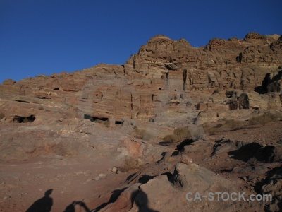 Archaeological nabataeans historic cliff unesco.