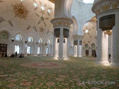 Archway abu dhabi sheikh zayed muslim western asia.