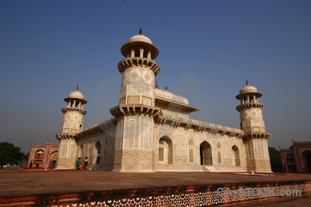 Archway building mausoleum south asia india.