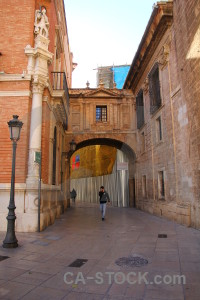 Archway europe spain brown valencia.