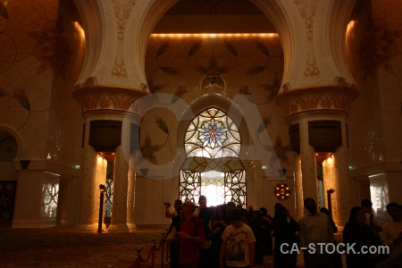 Archway middle east arabic mosque uae.