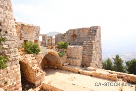 Archway middle east asia archaeological ajloun.