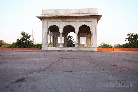 Archway mughal red fort delhi unesco.