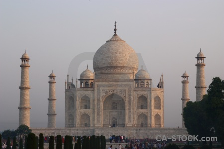 Archway shah jahan dome marble south asia.