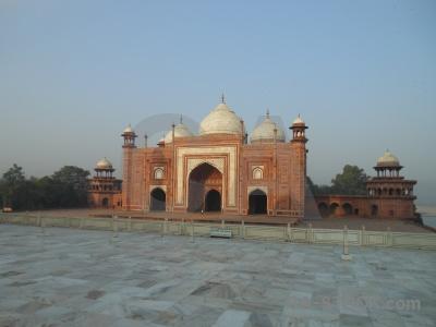 Archway ustad ahmad lahauri mausoleum south asia palace.