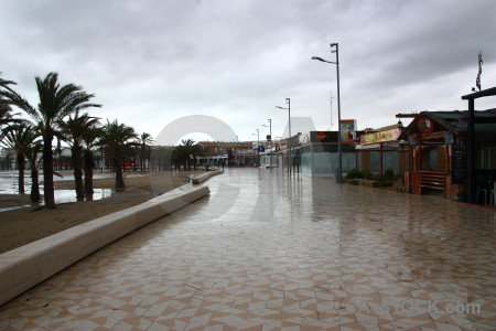 Arenal spain javea storm europe.