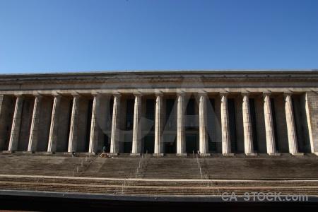 Argentina building sky column pillar.