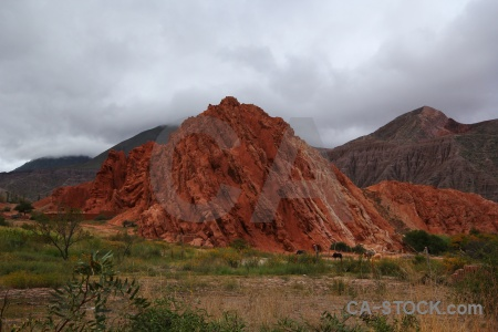 Argentina cerro de los siete colores rock salta tour south america.