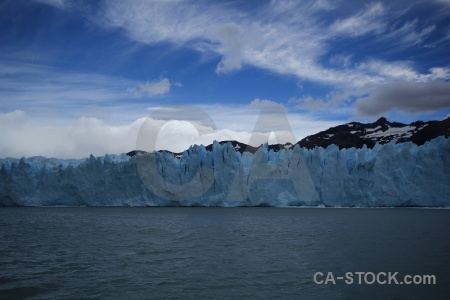 Argentina ice glacier cloud water.