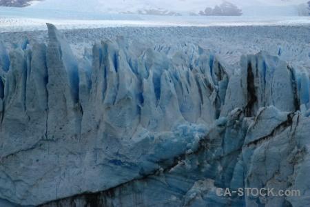 Argentina ice glacier south america terminus.