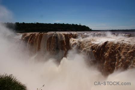 Argentina iguassu falls sky tree iguacu.