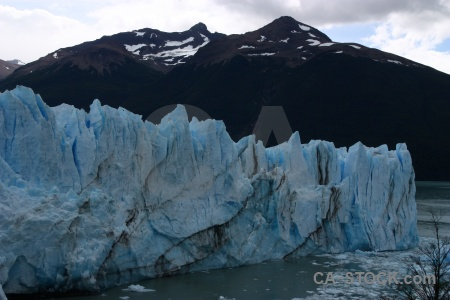Argentina mountain water lake argentino perito moreno.