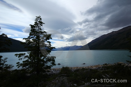 Argentina perito moreno mountain lake argentino lago.