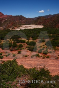 Argentina quebrada de las conchas river cafayate south america.