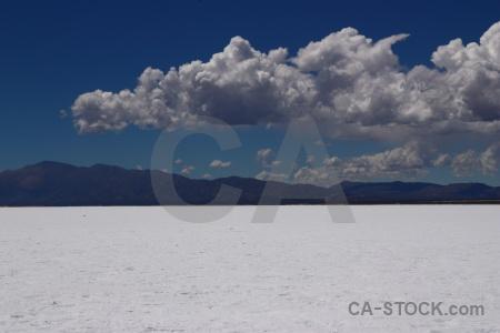 Argentina salinas grandes landscape cloud salta tour.