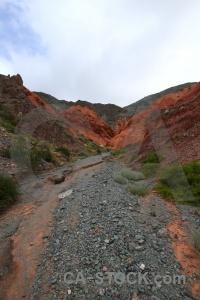 Argentina salta tour landscape cliff sky.