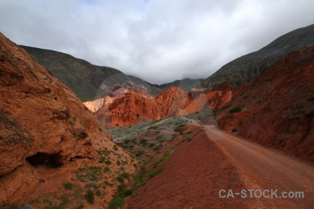 Argentina salta tour mountain cliff landscape.