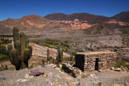 Argentina salta tour quebrada de humahuaca stone south america.
