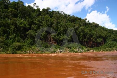 Argentina unesco iguazu river iguassu falls sky.
