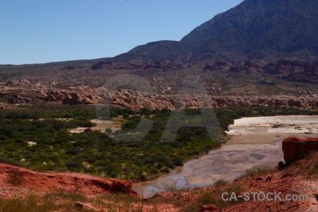 Argentina water calchaqui valley quebrada de cafayate las conchas.
