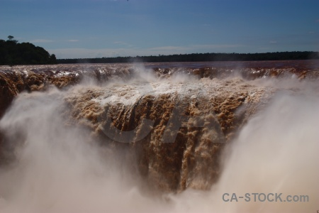 Argentina waterfall river unesco iguazu.