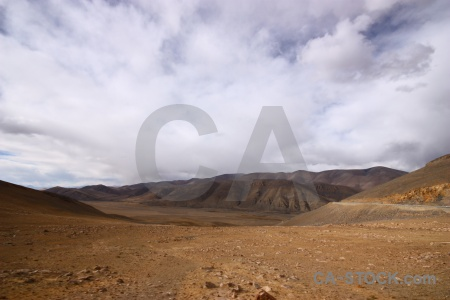 Arid tibet cloud friendship highway dry.