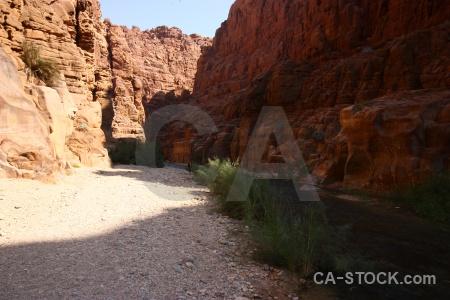 Arnon gorge mujib cliff jordan.
