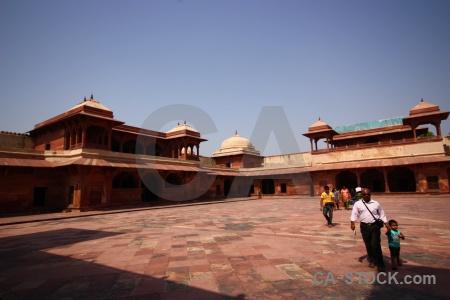 Asia akbar fort unesco fatehpur sikri.