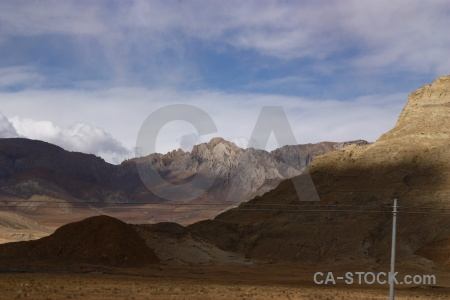 Asia arid cloud plateau tibet.