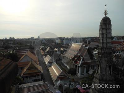 Asia bangkok building ornate temple.