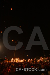 Asia bangkok festival light thailand.