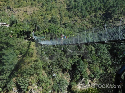 Asia bridge araniko highway nepal south.