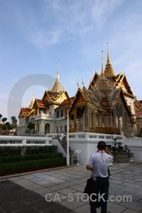 Asia buddhist palace ornate gold.