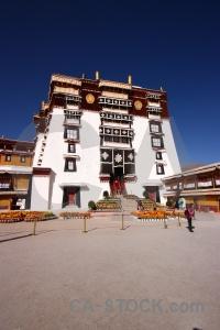 Asia building altitude tibet unesco.