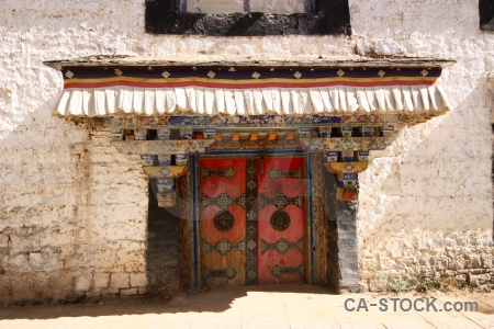Asia building lhasa buddhism tibet.