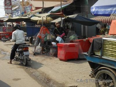 Asia building phnom penh cambodia road.