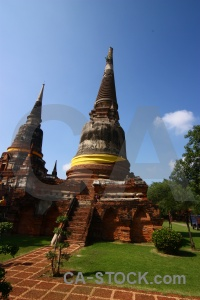 Asia building step thailand buddhism.