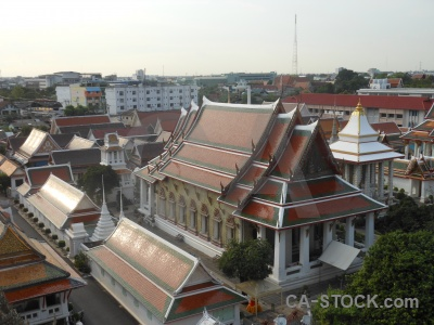 Asia building wat arun temple thailand.