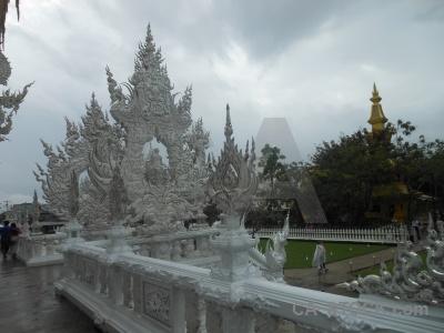 Asia chiang rai buddhist buddhism white temple.