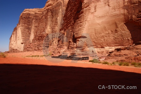 Asia cliff sky camp bedouin life style.