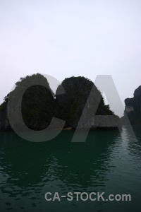 Asia cliff unesco ha long bay vinh.