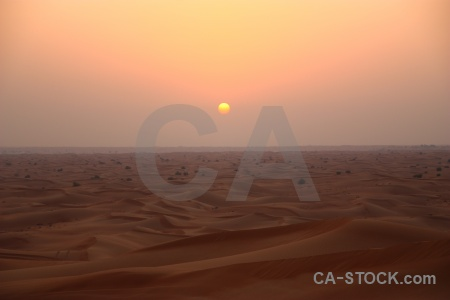 Asia desert uae sun sunset.