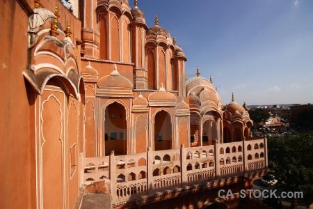 Asia hawa mahal monument jaipur palace.