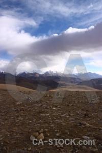 Asia himalayan lulang la mountain sky.