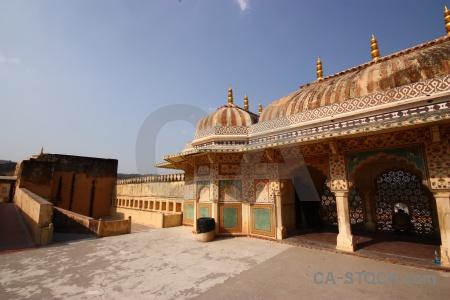Asia jaipur india building fort.