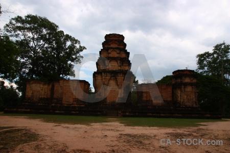 Asia khmer cloud buddhism tree.
