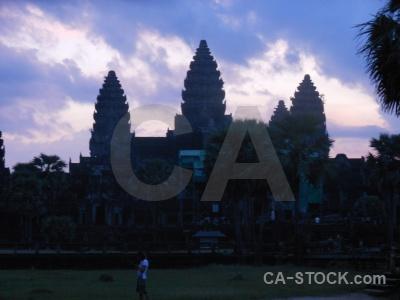 Asia khmer tree cambodia sky.