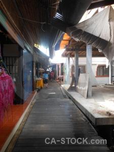 Asia ko panyi village stall building.