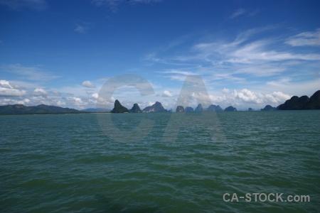 Asia limestone island tropical southeast asia.