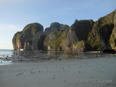 Asia limestone tropical southeast asia sea.